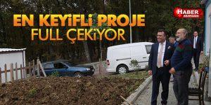 Atakum Projelerini Konuşturuyor 'Hobi Bahçeleri