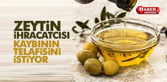 Zeytin ve zeytinyağı ihracatçısı ihracat desteklerindeki kaybının telafisini istiyor