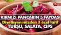 KIRMIZI PANCARIN 5 FAYDASI