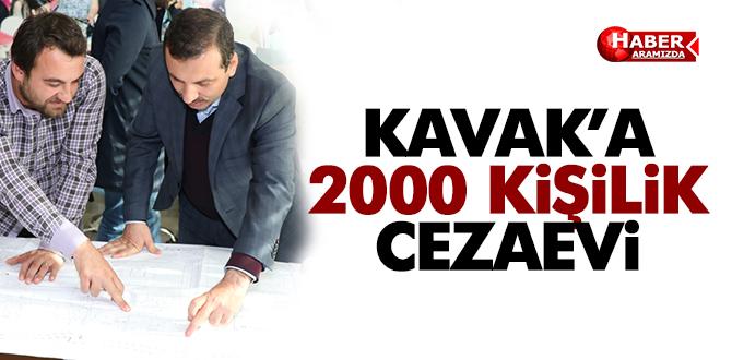 Kavak'a 2000 Kişilik Cezaevi İçin Çalışmalar Başladı