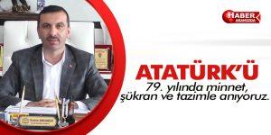 Başkan Sarıcaoğlu'ndan 10 Kasım Mesajı