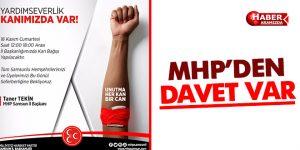 MHP 'YARDIMSEVERLERİK KANIMIZDA VAR'