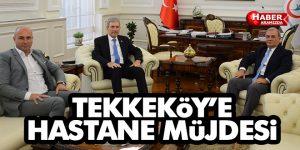 Tekkeköy'e yapılacak devlet hastanesi için son viraja girildi