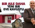 Tekkeköy Belediyesinden bir prefabrik ev daha