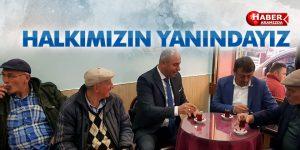 Togar Tekkeköy Halkını Yalnız Bırakmadı