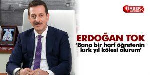 Erdoğan Tok, 24 Kasım Öğretmenler Günü Mesajı