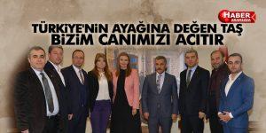 VALi KAYMAK 'TÜRKİYE'NİN AYAĞINA DEĞEN TAŞ BİZİM CANIMIZI ACITIR'