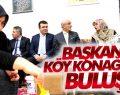 Başkanlar 'Köy Konağında' buluştu