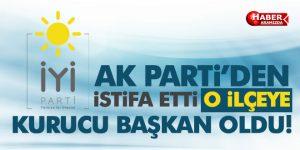 AK Parti'den istifa edip İYİ Parti Kavak Kurucu İlçe Başkanı oldu