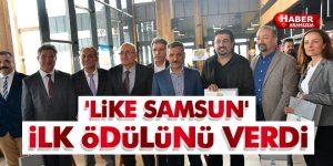 'LİKE SAMSUN' İlk ödülünü Verdi