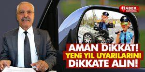 Türkiye Trafik Kazalarını Önleme Derneği'nden Yeni Yıl Uyarısı!