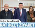 Samsun Fotoğraf Sanatı Derneği İkiz'i Ziyaret Etti