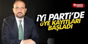 Samsun İYİ Parti'de üye kayıtları başladı