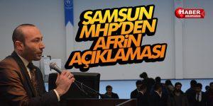 Samsun MHP'den Afrin Açıklaması