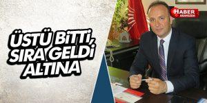 AKCAGÖZ 'ÜSTÜ BİTTİ, SIRA GELDİ ALTINA'