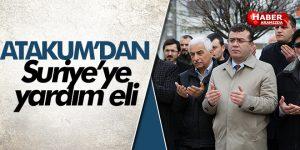 Atakum'dan Suriye'ye yardım eli