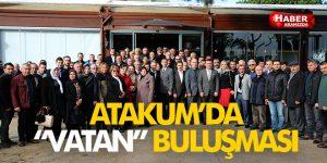 Atakum'da Siyasi partilerin ilçe başkanları buluştu