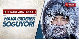 Samsun'da Hava Giderek Soğuyor! Bu Uyarılara Dikkat!
