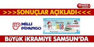 Milli Piyango Sonuçları Açıklandı! Büyük İkramiye Samsun'a Çıktı