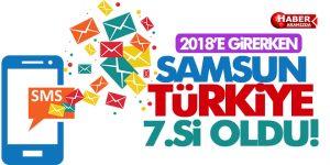 Bakın Hangi Konuda Samsun 2018'e Girerken Türkiye 7.si Oldu