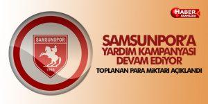 Samsunspor'un Yardım Kampanyası Devam Ediyor