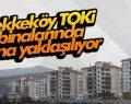 Tekkeköy TOKİ binalarında sona yaklaşılıyor