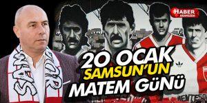 Başkan Togar, '20 Ocak Samsun'un matem günü'