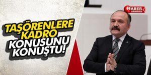 Erhan Usta Taşeronlara Kadro Kunusunu Konuştu