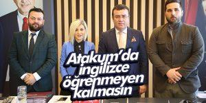 Atakum'da İngilizce öğrenmeyen kalmasın