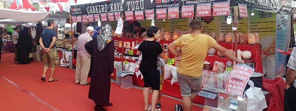 70 İlin Yöresel Ürünleri Atakum'da buluşuyor