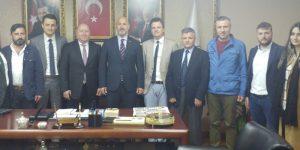 Balkan Türklerinden AK Parti'ye ziyaret