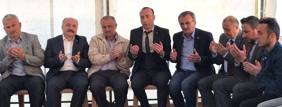MHP'den Şehit Polis'in ailesine taziye ziyareti