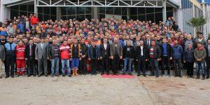 Atakum'da işçilere promosyon müjdesi