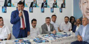 AK Partililer Havza'da bayramlaştı