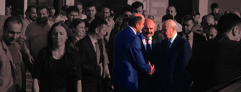 Bahçeli, İYİ Parti İl Başkanı Ömer Süslü'yü ziyaret etti