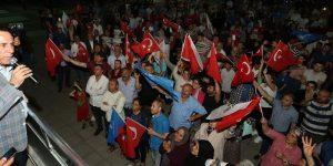 Canik'te Erdoğan coşkusu