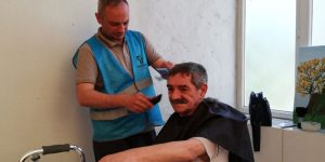 Tekkeköy Belediyesinden Evde Kuaförlük Hizmeti