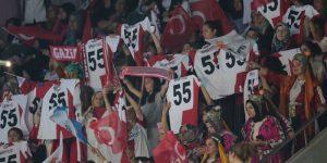 Büyük kongrede Samsun ve Samsunspor rüzgarı esti