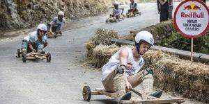 Red Bull Formulaz Tahta Otomobiller Rize'de Yarışıyor