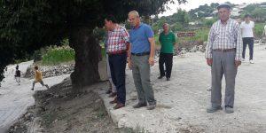 Havza'da mahalle ziyaretleri