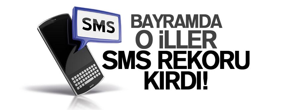 SAMSUN, BAYRAMDA SMS REKORU KIRDI