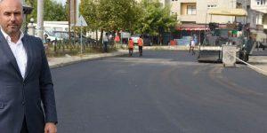 Tekkeköy'de Asfalt Yol Atağı