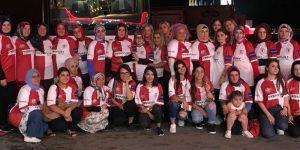 AK Kadınlar Samsunspor formalarıyla büyük kongrede