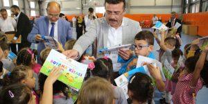 Atakum'da ilk ders zili heyecanı
