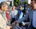 Atakum' da aşure dağıtıldı