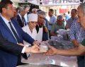 Bafra'da 4 bin kişiye aşure dağıtıldı