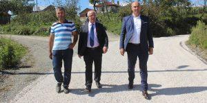 Tekkeköy'de Çalışmalar Aralıksız Sürüyor