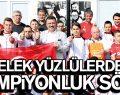 Melek Yüzlülerden Başkan Taşçı'ya şampiyonluk sözü