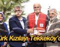 Türk Kızılayı Tekkeköy'de