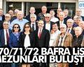 BAFRA LİSESİ MEZUNLARI BAFRA'DA BULUŞTU
